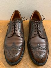 Bootmaster by Thom McAnn Brown Leather Wingtips made in Usa Men's Sz 10