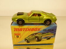 MATCHBOX SUPERFAST 9 AMX JAVELIN - GREEN METALLIC - EXCELLENT IN BOX