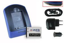 Baterìa+Cargador (USB) EN-EL12 para Nikon Coolpix S9050, S9100, S9200