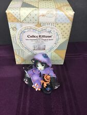 1997 Calico Kittens #274852 Our Friendship Is Magical Spell By Enesco-Halloween