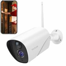 Outdoor CCTV Security Camera 1080P HD Weatherproof 2.4G WiFi Camera, Victure