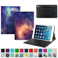 For Apple iPad Mini 1 2 3 4 Gen. Case Stand Cover + Wireless Bluetooth Keyboard