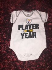 Nfl Steelers Baby One Piece Size 6-9 Months
