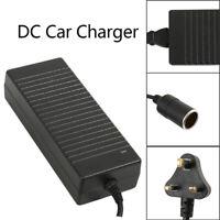 10A 240V Mains Plug to 12V Adaptor Car Charger Power Cigarette Lighter Socket W6