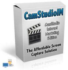 CamStudio - Screencapture Studio Record Games Video Calls Screencasts Software