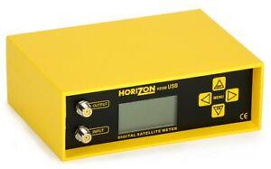 Horizon HDSM USB V3 Latest Model Satellite Meter, New, Boxed, Pre Programmed