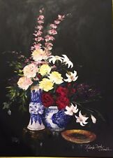 Chandler, Terry-Midnight Bouquet-Floral-Art For Sale