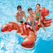 Intex Badetier Hummer Schwimmtier Reittier Pool Lounge Badespielzeug Badespass