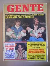 GENTE n°7 1978 La Strage di Messina Annamaria Guarnieri Carla Gravina  [C39]