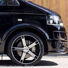 """T6 BK677 VW T5 4 New Wheel New Tyre FlowForm 20"""" Transporter kombi 3400kg"""
