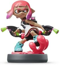Amiibo Splatoon 2 Inkling Girl Neon Pink Squid Nintendo Switch USA VERSION