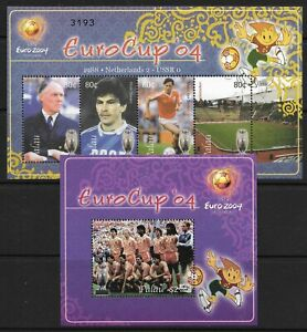STAMPS-PALAU. 2004. European Cup Football-Portugal Miniature Sheets. SG: MS2051.
