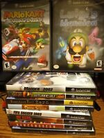 *UPDATED 01/05* NINTENDO GAMECUBE GAMES LOT YOU PICK YOUR OWN BUNDLE Mario Kart