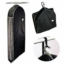 NYLON ZIPPERED Travel Garment Bag CARRY SUITS DRESSES JACKET CLOTHING GARMET USA