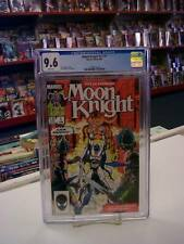 MOON KNIGHT V2 #1 (Marvel Comics, 1985) CGC Graded 9.6 ~ WHITE Pages