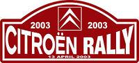Race Decal Sport Nostalgic Citroen Rally Motorsport Racing Car Sticker