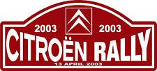 Race Decal CItroen Sport Graphic Nostalgic Rally Motorsport Racing Car Sticker