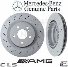 NEW Mercedes W211 E W219 CLS Class Pair Set of 2 Rear Brake Disc Rotors GENUINE
