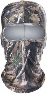 WTACTFUL Cool & Breathable Camo Face mask for Hunting or Hiking
