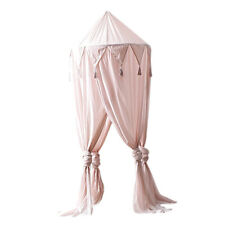 Kids Baby Bedding Round Dome Bed Canopy Netting Bedcover Mosquito Net Pink