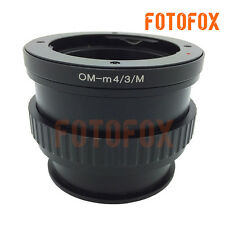 OM-M4/3/M For Olympus OM Lens to Micro 4/3 adapter Macro Focusing Helicoid E-P5