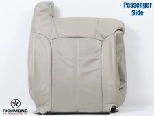 2002 Cadillac Escalade EXT PASSENGER Lean Back PERFORATED Leather Seat Cover TAN