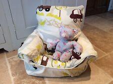 Handmade Children's Beanbag Chair Cover, Farmyard Design