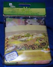 "RARE VTG 1980'S PHILDAR HALF CROSS STITCH CRAFT KIT, 35.4"" X 15.7"" TAPESTRY"