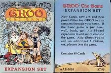 Groo : The Card Game - The Expansion Set - Brand New