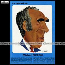 MICHEL PICCOLI - Portrait par TIBET (No Ric Hochet, Chick Bill) 1972 #TB-63