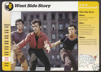 WEST SIDE STORY Movie Photo 1994 Grolier Story of America CARD