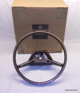 NOS MoPar 1981-1983 Chrysler Cordoba Lebaron Mirada Imperial Steering Wheel