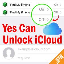 *** iCloud Removal Unlock Apple ID ACTIVATED iPhone / iPad FMI Turn OFF Service
