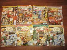 Secondhand Australian Country Craft  Magazines  x 8