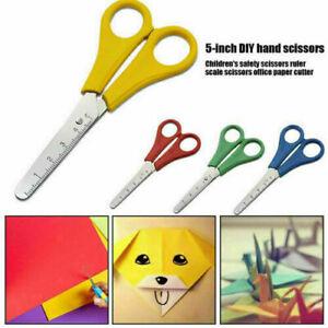 Scissors Children's School Kids Right & Left Handed Craft 130mm Plastic Handle