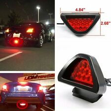 Car Lamp F1 style Triangle Red Universal Rear Tail 3rd Brake Stop Safety Light