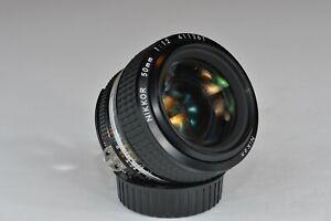 Nikon AI-S FX NIKKOR 50mm F/1.2 Lens
