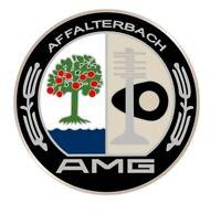 AMG Affalterbach MercedesBenz 4 X Aufkleber StickerLogo Emblem 60mm (6cm) Rund.