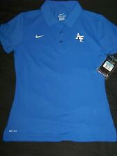 Nike DriFit Women's Airforce Falcons Polo Shirt NWT Medium