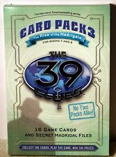 39 Clues Card Pack 3: Rise of the Madrigals: for Books 7 & 8 by Scholastic BOGO