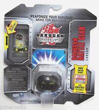 Bakugan LANSOR Battle Gear Black GOLD ATTRIBUTE Accessory 2010 Brawlers NEW