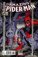 AMAZING SPIDER-MAN 7 VOL 3 DEADPOOL 75th ANNIVERSARY VARIANT 10/8 SPIDER-VERSE