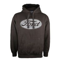 Ford - Logo - Mens - Pullover Hoodie - Charcoal - Size S,M,L,XL,XXL