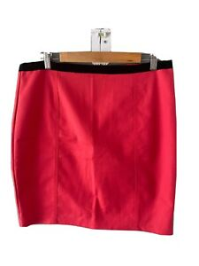 TOKITO Pencil Skirt Size 14  Business, Workwear Casual Bold Pink