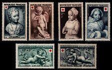 CROIX ROUGE 1950 à 1952, Neufs * = Cote 16 €  / Lot Timbres France