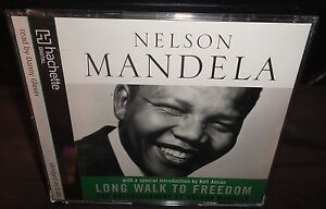 Nelson Mandela - Long Walk To Freedom (AUDIO BOOK CD) 5 Discs - Danny Glover