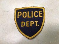 Vintage Police Dept Patch