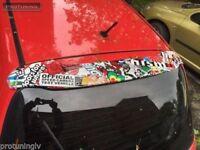 Wing For Nissan Micra K11 MK2 1992-2003 TAILGATE REAR ROOF Door SPOILER