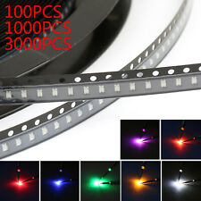 0805 SMD SMT LED Red Green Blue Yellow White OG Purple 7Colours Licht Diode A3