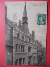 CRAPONNE sur ARZON  :  L'Hôtel de Ville........VO.1913.